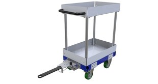 FlexQube Shelf Tugger Cart 420 x 630 mm Q-100-3368