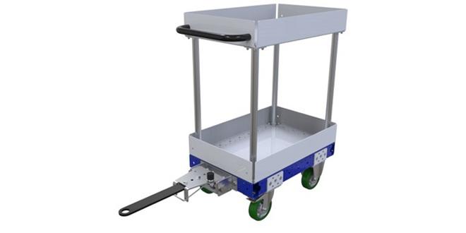 FlexQube Shelf Tugger Cart 420 x 630 mm Q-100-3368