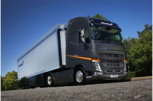 NEW VOLVO FH FLEET ON THE START LINE FOR McLAREN RACING