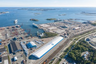 New transshipment terminal soon to become operational