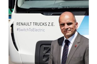 RENAULT TRUCKS ANNOUNCES ARRIVAL OF UK'S FIRST 100 PERCENT ELECTRIC PRODUCTION TRUCK