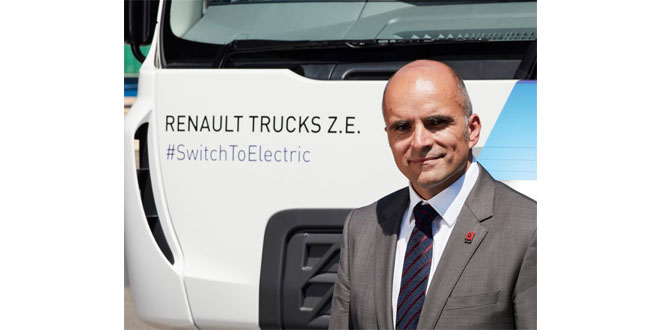 Renault Trucks announces arrival of UK's first 100% electric production truck, Range D Wide Z.E.