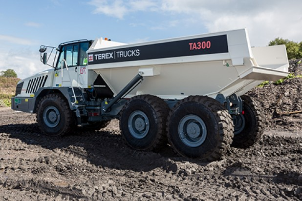 Terex Trucks articulated hauler