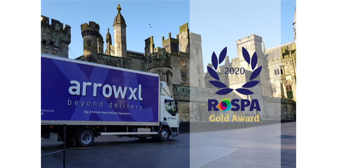 ArrowXL goes 'GOLD' and receives industry-leading Health and Safety Award