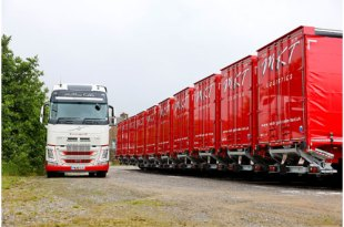 Matthew Kibble Transport expands with new SDC fleet for Pallet Track operation