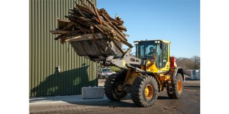 New Volvo machines for Commercial Recycling