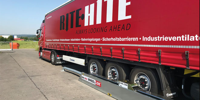 Rite-Hite, manufacture of  Global Wheel-Lok Loading Bay safety system commences in Germany