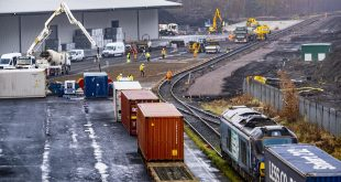 PORT OF GRANGEMOUTH INVESTS 3 MILLION GBP IN RAIL FACILITY AT SCOTLANDS LARGEST FREIGHT HUB