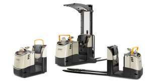 Crown upgrades order pickers and tow tractors