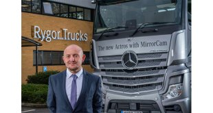 Sean Joyce at the Dealer's brand-new Heathrow Truck Centre, opened in September 2020