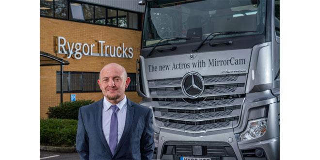 Sean Joyce at the Dealer's brand-new Heathrow Truck Centre, opened in September 2020