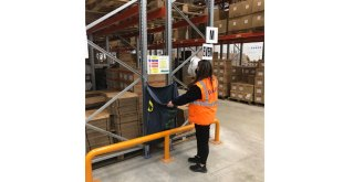 Beaverswood racksack is used by RAJA UK to improve waste management at its Brogborough warehouse