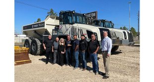 Easton Sales and Rentals wins Terex Trucks Top Dealer Award