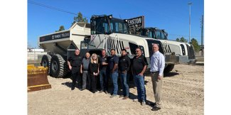 Easton Sales and Rentals wins Terex Trucks Top Dealer Award