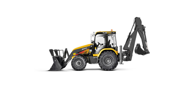 Mecalac unveils all-new TLB880 backhoe loader