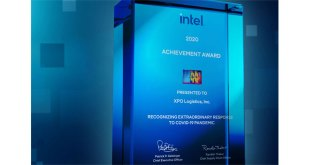 XPO Logistics Receives Intel Award for COVID-19 Response