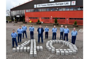 GS Yuasa celebrate 40 years of battery production in South Wales