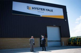 Hyster-Yale Group celebrates 40 years of manufacturing in Northern Ireland as plant expands