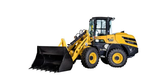 Yanmar launches Stage V-compliant V120 wheel loader