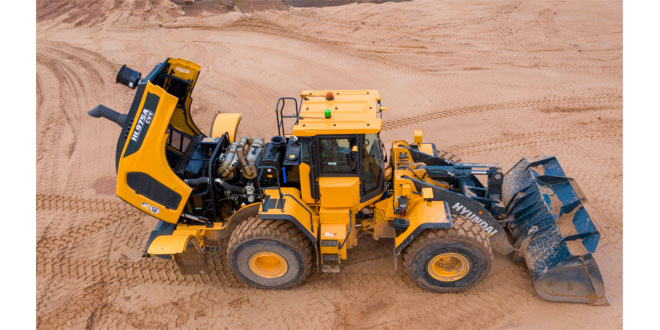 First impressions! DA Harrison buys the first Hyundai HL975A CVT wheeled loader in the UK