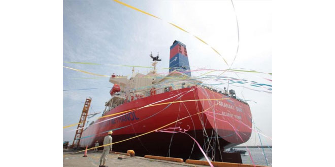 Methanol-Fuelled ships less costly to build and operate than those burning LNG