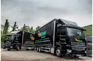 PRM Green Technologies gets the Mercedes-Benz low-down once again from Midlands Truck & Van
