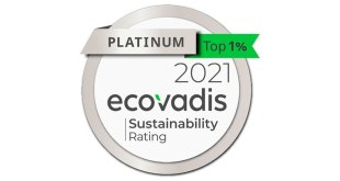 DS Smith awarded Platinum rating from EcoVadis