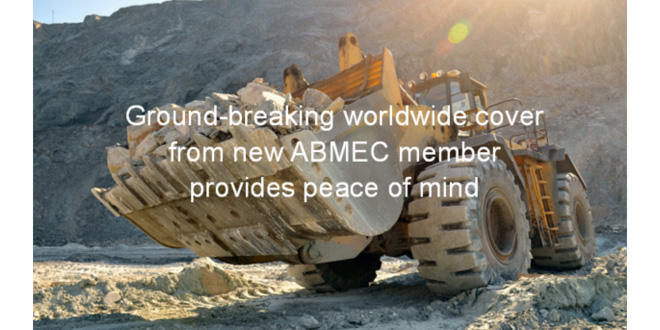 Ground-breaking worldwide cover from new ABMEC member provides peace of mind
