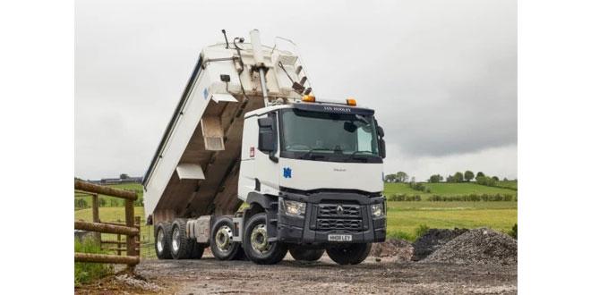 Ian Hooley Haulage converts to Renault Trucks