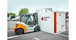 Hamburg-based intralogistics company STILL and their employees provide support to flood victims