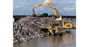 Metal Recycling and waste management specialist Ward has opened a new rail connected metal processing site in Barking
