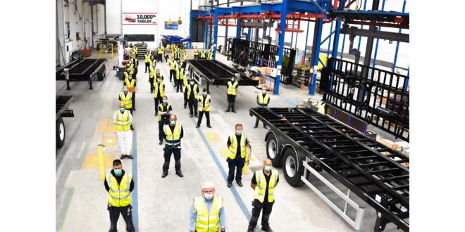 SDC marks 10,000th trailer milestone at new production facility
