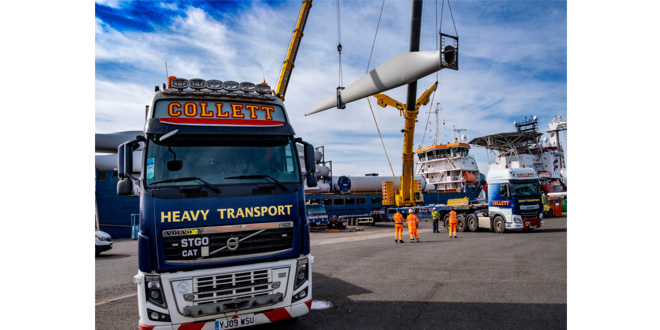 The Port of Leith welcomes onshore wind turbines to bespoke renewables facility