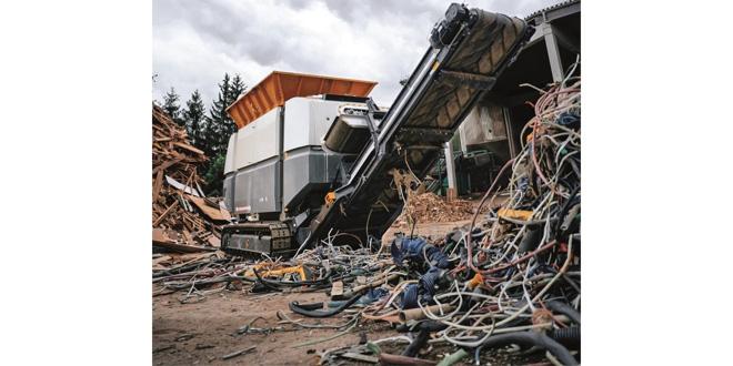 UNTHA America unveils new ZR two shaft shredder