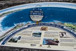 Brest à 340 miles nautiques