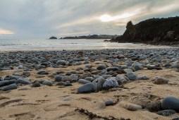 La plage de Porsmilin