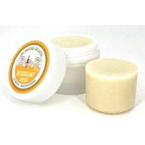 Desodorante Natural Sólido de Limón y Mandarina