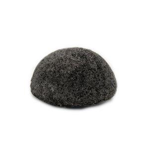 esponja de konjac con carbón de bambú