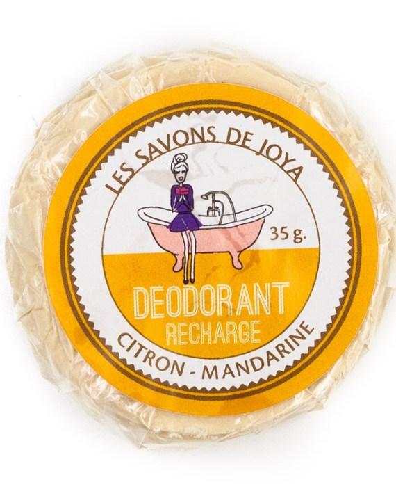 desodorante natural cítricos