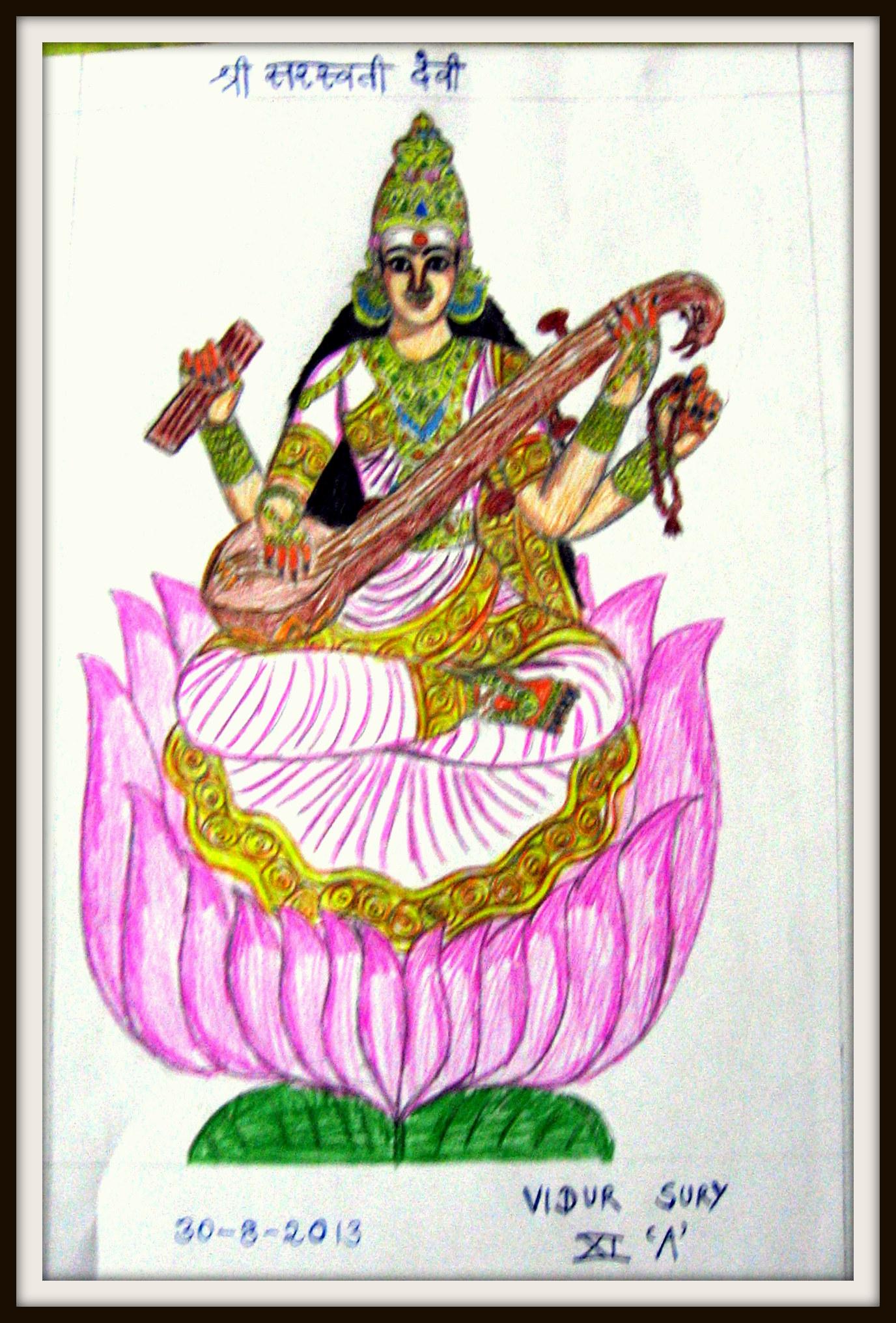 Saraswati Lives With Us