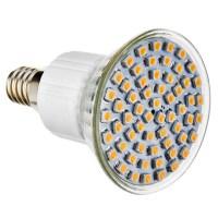 E14 LED spotlampen 60 leds SMD 3528 Natuurlijk wit 300lm 4100K AC 220 240V 1194110 2021 – €4.04