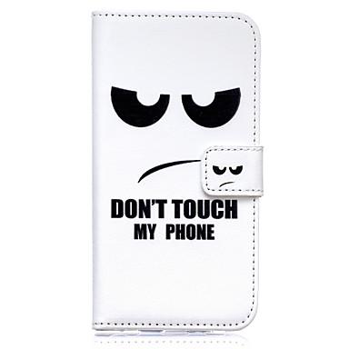 не трогай мой телефон шаблон тисненой ПУ кожаный чехол для ...