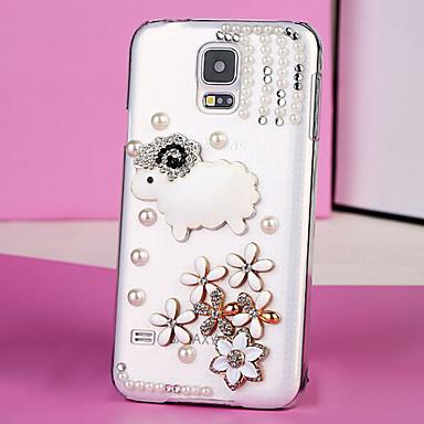Для Кейс для Samsung Galaxy Стразы / Прозрачный Кейс для ...