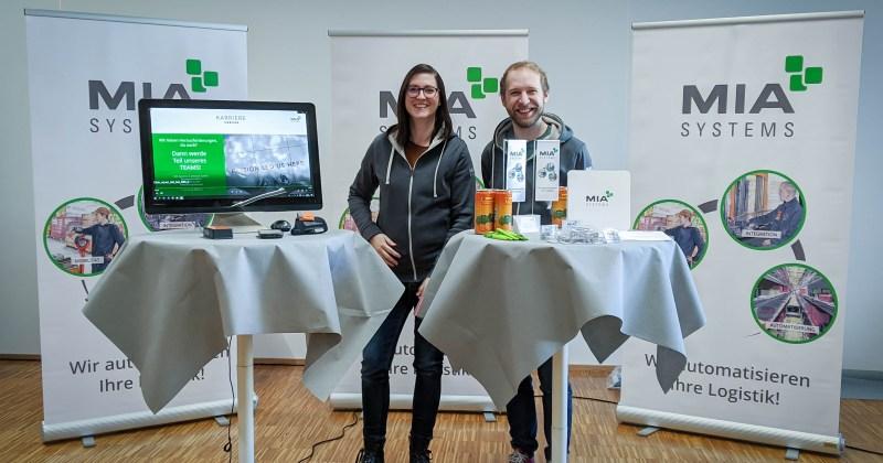 MIA bei der Jobmesse der HTL Dornbirn 2020
