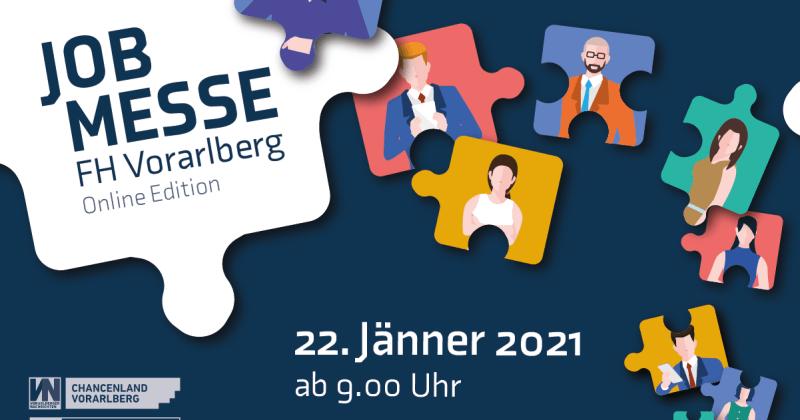 Jobmesse FH Vorarlberg 2021