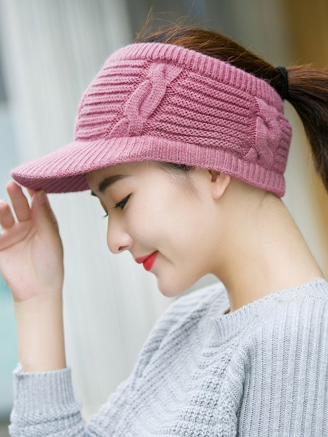 Fashionmia Korea Style Fashion Beret Knitted Crochet Hats For Winter
