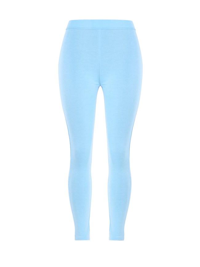 Fashionmia Mid-Rise Plain Legging