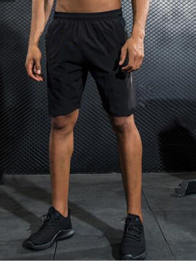 Fashionmia Men's Elastic Waist Sport Quick Dry Shorts