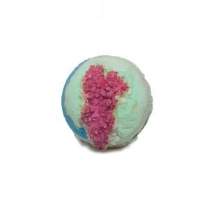 Green Pink Sphere Bath Bomb