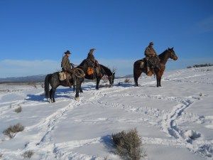 New Mexico horseback hunt